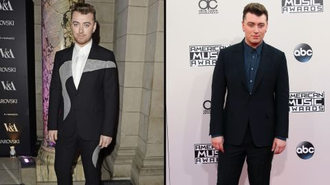 Singer Sam Smith is looking svelte these days (at left, arriving at an event in March 2015) and has credited nutritionist and author Amelia Freer with helping him change his diet and look.