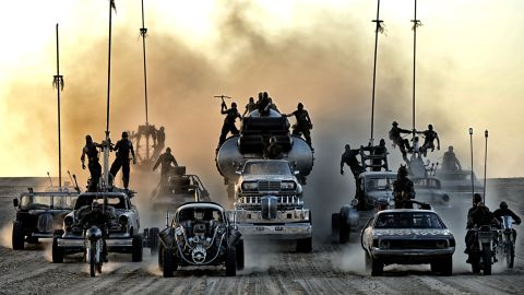 """Before there was """"The Fast and the Furious,"""" there was """"Mad Max,"""" a man racing cars through a post-apocalyptic landscape. (OK, so """"Fast's"""" locales aren't post-apocalyptic ... yet.) The original films, including """"The Road Warrior,"""" made a star of Mel Gibson. Now comes """"Mad Max: Fury Road,"""" starring Tom Hardy in Gibson's role, as well as Charlize Theron. The film was directed and co-written by """"Max"""" auteur George Miller. It opened May 15."""
