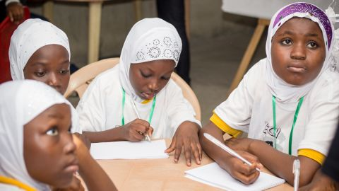 The school educates young girls from Nima, a poor neighborhood in Accra. Many have received no formal education before enrolling, and Achievers Ghana has had to work hard with local community leaders to promote the benefits of teaching the girls.