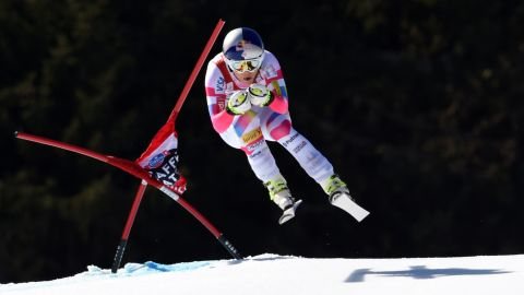 """Vonn's thoughts are now turning towards motherhood. """"Life is a lot different. You can't have a family at home and keep racing. It's one or the other."""""""