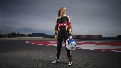 Carmen Jorda joined Lotus F1 as a development driver ahead of the 2015 season.