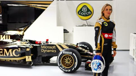 Both Wolff and Jorda hope to be role models for girls and inspire them to take up racing.
