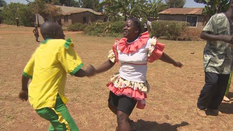 "The Isukha and Idakho communities in western Kenya practice a lively, celebratory dance called ""isukuti""."