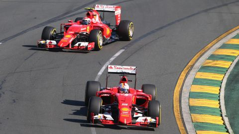 They have made an encouraging start together, with former Red Bull star Vettel winning in Malaysia and earning two other podium placings, while Raikkonen was second in Bahrain.
