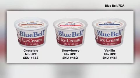 """Blue Bell Ice Cream voluntarily recalled all of its products made at all of its facilities, the company said in <a href=""""http://www.bluebell.com/the_little_creamery/press_releases/all-product-recall"""" target=""""_blank"""" target=""""_blank"""">an April 2015 news release</a>. The products, which included ice cream, frozen yogurt, sherbet and other frozen delights, were potentially contaminated with listeria. Listeria is rare, but <a href=""""http://www.cdc.gov/features/vitalsigns/listeria/"""" target=""""_blank"""" target=""""_blank"""">it's still the third-ranking cause of death</a> from food poisoning in the United States."""