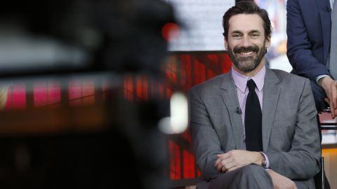 """TMZ reported that <strong>Jon Hamm</strong> of AMC's """"Mad Men,"""" shown here on NBC's """"Today"""" show, completed a 30-day stint in rehab to treat an addiction to alcohol."""