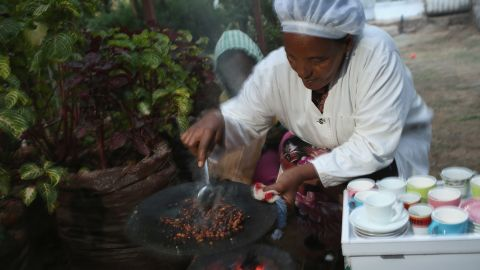 Within Ethiopia, coffee isn't seen as just an aromatic stimulant which helps to kick-start your day. The traditional Ethiopian coffee ceremony gathers family and friends and has special. spiritual meaning. <br />