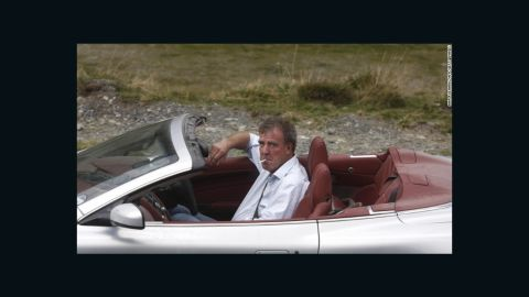 'Top Gear' host Jeremy Clarkson, pictured in an Aston Martin in 2009.