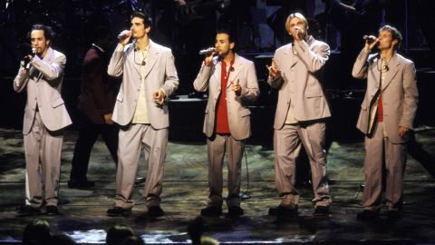"""In 1996, the Backstreet Boys released their debut album, """"Backstreet's Back."""" """"Millennium,"""" """"Black & Blue,"""" """"Never Gone,"""" """"Unbreakable"""" and """"This Is Us"""" followed. After parting with the group years ago, Kevin Richardson (second from left) rejoined A.J. McLean, Howie Dorough, Nick Carter and Brian Littrell. In March 2017, <a href=""""http://www.cnn.com/2017/03/02/entertainment/backstreet-boys-las-vegas-residency/index.html"""">they kicked off a limited Vegas residency </a>and they <a href=""""https://www.cnn.com/2018/05/17/entertainment/backstreet-boys/index.html"""" target=""""_blank"""">released a new single in May. </a>"""