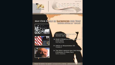 """Prosecutors say Tsarnaev was a self-radicalized jihadist who pored over militant writings, including the article """"How to Build a Bomb in the Kitchen of Your Mom."""" It was found on his laptop and other devices, part of a full-edition download of Inspire magazine, a glossy English-language propaganda tool put out by al Qaeda in the Arabian Peninsula."""