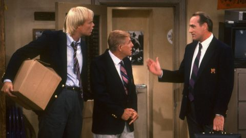 """Bill Fagerbakke, left, Jerry Van Dyke and Craig T. Nelson starred in the comedy """"Coach,"""" which ended in 1997. Fans were excited by news that NBC was working on <a href=""""http://www.cnn.com/2015/03/27/entertainment/craig-t-nelson-coach-coach-thr-feat/index.html"""">a """"Coach"""" revival starring Nelson</a>, but it was later reported <a href=""""http://www.hollywoodreporter.com/live-feed/coach-follow-up-dead-at-819218?cnn=yes"""" target=""""_blank"""" target=""""_blank"""">the reboot had been scrapped. </a>"""