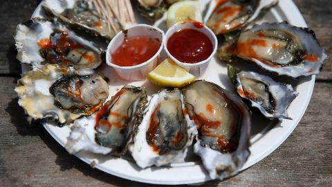 """It is common for some arsenic to be found in seafood. However, <a href=""""http://www.atsdr.cdc.gov/csem/csem.asp?csem=1&po=5"""" target=""""_blank"""" target=""""_blank"""">higher concentrations of dietary organic arsenic</a> may be found in bivalve mollusks (clams, oysters, mussels) and crustaceans (crabs and lobsters), according to the Agency for Toxic Substances and Disease Registry. The organic forms of arsenic found in these types of seafood are generally considered nontoxic."""