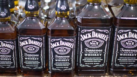 <strong>3. Jack Daniel's whiskey. </strong>US retail sales in 2014: $219 million.