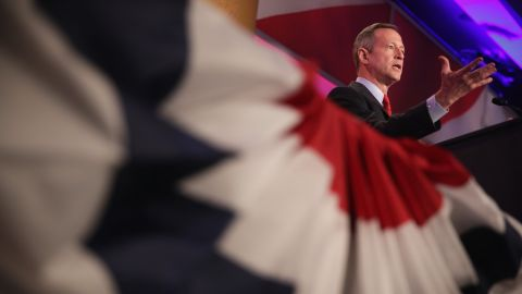"""O'Malley has not been shy about potentially running in 2016, saying about potential competitors Jeb Bush and Hillary Clinton that the presidency is not a """"crown"""" to be passed through families."""