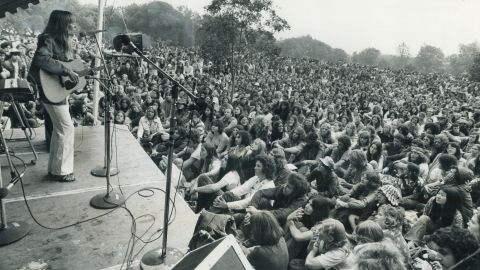 """Mitchell was near the height of her popularity when she performed at the 1972 Mariposa Folk Festival in Toronto. Some of her major albums include """"Clouds,"""" """"Ladies of the Canyon,"""" """"Blue,"""" """"For the Roses,"""" """"Court and Spark"""" and """"Wild Things Run Fast."""""""