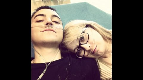 One month after meeting, Dalton had passed a dangerous infection on to Katie.