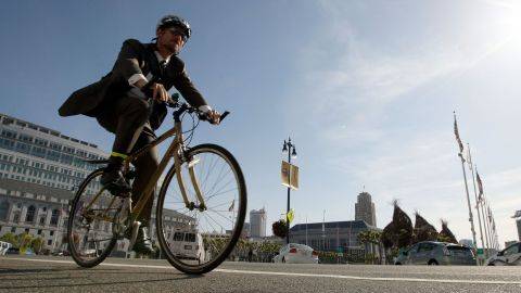Commuting exposes you to more pollutants, especially while cycling.