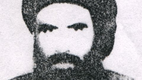 Mullah Omar, chief of the Taliban in Afghanistan, is shown in an undated photo.