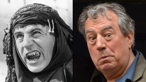 """Terry Jones, 72, has created TV shows about the Middle Ages, an era on which he's an expert. (He's written two books about Geoffrey Chaucer.) He's also written several children's books and was a regular contributor to UK newspapers during the Iraq War,<a href=""""http://edition.cnn.com/2005/SHOWBIZ/books/04/12/terry.jones/""""> which he opposed</a>. With songwriter Jim Steinman, he's been working on a rock version of """"The Nutcracker,"""" """"NUTZ,"""" and his film """"Absolutely Anything"""" is due out this year."""