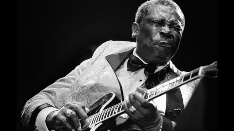 King performs at the North Sea Jazz Festival in Rotterdam in 1995.