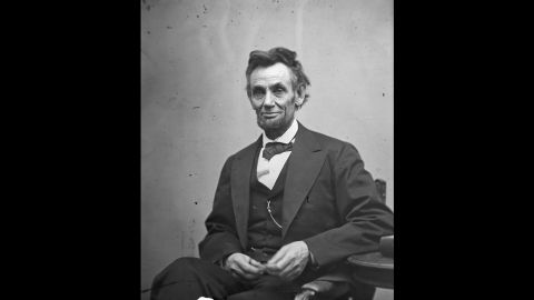 President Abraham Lincoln, shown in a portrait taken February 5, 1865, was shot by assassin John Wilkes Booth on April 14, five days after Lee surrendered his army.