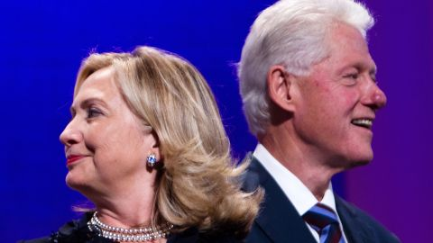 Whichever Republican wins the party's 2016 nomination will likely face the first-ever female major-party nominee: Hillary Clinton. She rose to fame as first lady, the wife of former President Bill Clinton, but has since established a political career of her own that includes stints as a U.S. senator and secretary of state. Hillary and Bill Clinton are pictured.