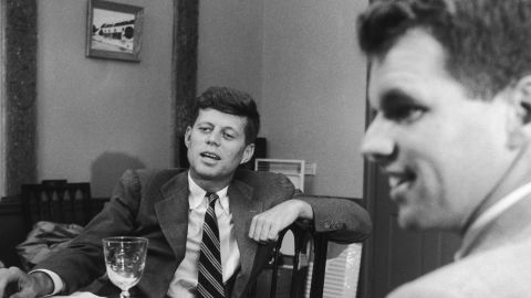 John F. Kennedy (left) is the best-known member of the massively influential Democratic political clan. But his younger brother and attorney general, Robert Kennedy, sought the party's 1968 nomination before being assassinated, too. Their brother Ted Kennedy challenged incumbent President Jimmy Carter in the 1980 Democratic primary.