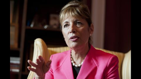 """Democratic Rep. Jackie Speier of California is behind a House bill that would lift the deadline that halted the last ERA movement in 1982. Her approach is different from Maloney's, which would start the process from scratch, but the goal is the same. """"Congresswoman Maloney and I are attached at the hip,"""" Speier says."""