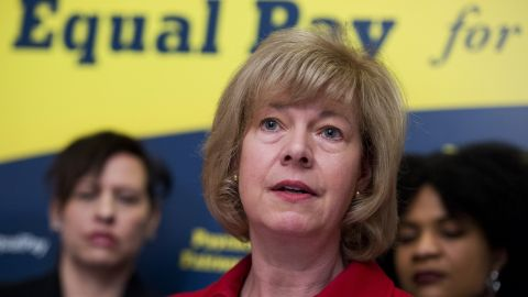 """When she was in the House, Tammy Baldwin sponsored the effort -- now led by Speier -- to lift the 1982 deadline, sometimes referred to as the """"three-state strategy."""" Now a Democratic senator from Wisconsin, Baldwin urged the Senate last year to pass the Paycheck Fairness Act, which would help close the wage gap between men and women."""