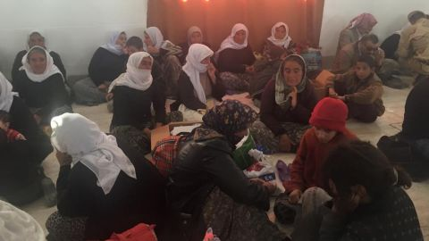 Over 200 Yazidi captives were released by ISIS in Iraq's Kirkuk province.