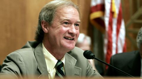 Lincoln Chafee, a Republican-turned-independent-turned-Democrat former governor and senator of Rhode Island, said he's running for president on Thursday, April 16, as a Democrat, but his spokeswoman said the campaign is still in the presidential exploratory committee stages.