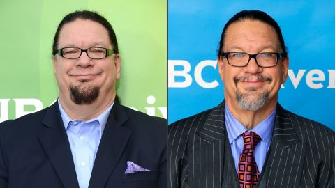 """Penn Jillette<a href=""""http://greatideas.people.com/2015/04/08/penn-jillette-weight-loss-las-vegas-home/"""" target=""""_blank"""" target=""""_blank""""> told People magazine </a>there was no magic involved in his weight loss from 330 to 225 pounds. The performer, who is half of the illusionist act Penn & Teller, just changed his eating habits to shed 105 pounds and get his high blood pressure under control."""