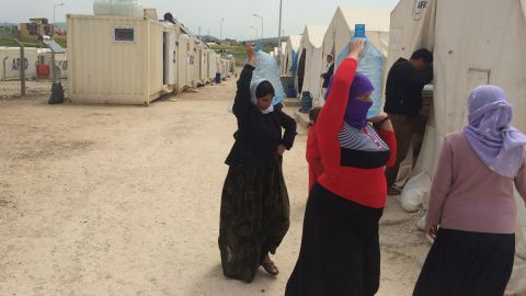 Thousands of Yazidis from the town of Sinjar were taken captive by ISIS forces. Fighters separated the women from men and forced them to become sex slaves. Men faced a choice: Convert to Islam or be shot.