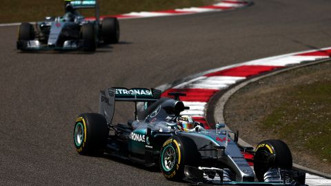 Hamilton denied the allegations, but the incident has again stoked tensions within the team -- which last season threatened to overshadow Mercedes' complete dominance.