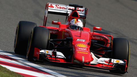 """Vettel's third-placing meant, for the first time in F1 history, <a href=""""http://www.formula1.com/content/fom-website/en/latest/features/2015/4/shanghai-stats---hamiltons-full-house.html"""" target=""""_blank"""" target=""""_blank"""">the same three drivers have appeared on the podium for the opening three races of a season.  </a>"""