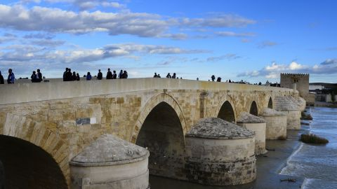 This 247-meter-long bridge built by Roman troops more than 2,000 years ago in Cordoba, Spain, makes an appearance in series five as the Long Bridge of Volantis.