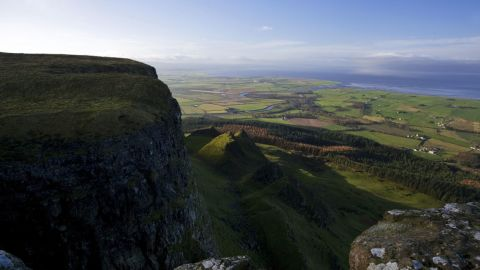 """Northern Ireland continues to be a key filming location for """"Game of Thrones."""" Some of the action in season 5 takes place in the shadow of Binevenagh Mountain, County Londonderry."""