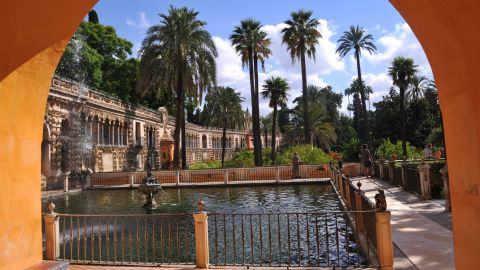 The elegant gardens and hallways of the Moorish royal palace in the center of the Spanish city of Seville form another series five newcomer. It's thought the sprawling Real Alcazar will double as the Water Gardens of Dorne, the summer residence of House Martell.