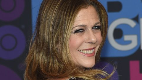 """Actress Rita Wilson, who can be seen on HBO's """"Girls,"""" revealed in April 2015 that she was fighting breast cancer and has undergone a double mastectomy. She thanked her family, including husband Tom Hanks, and doctors for their support in a<a href=""""http://www.people.com/article/rita-wilson-breast-cancer-double-mastectomy-reconstruction"""" target=""""_blank"""" target=""""_blank""""> statement to People magazine</a>."""