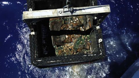 The retrieved coins were melted and sold, according to the BBC.