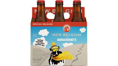 Colorado's New Belgium Brewery and the folks at Ben & Jerry's are teaming up to produce a beer based on salted-caramel brownie ice cream. Take a stroll through the gallery for more examples of strange food mashups.
