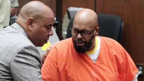 """Former rap mogul Marion """"Suge"""" Knight is currently in jail and charged with murder and other charges stemming from a hit-and-run confrontation that left one man dead and another injured in 2015. Knight has pleaded not guilty."""
