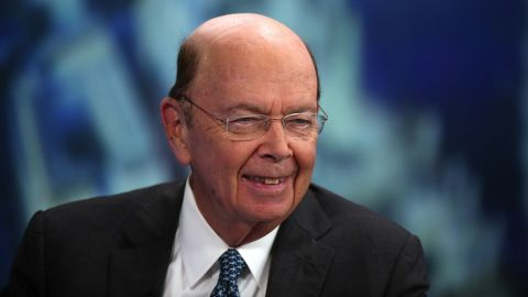 Wilbur Ross, US billionaire, chairman and chief executive officer of W L Ross & Co. LLC, reacts during a Bloomberg Television interview in London on Tuesday, Nov. 18, 2014.