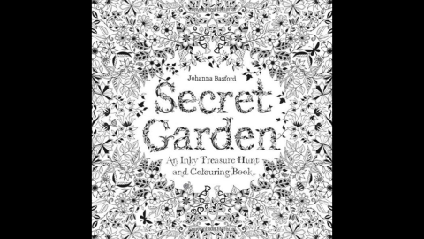 """Coloring book titles like Johanna Basford's """"<a href=""""http://www.amazon.co.uk/Secret-Garden-Inky-Treasure-Colouring/dp/1780671067/ref=pd_sim_b_6?ie=UTF8&refRID=0MWB2DBKX77SXYXPQMX8"""" target=""""_blank"""" target=""""_blank"""">Secret Garden</a>"""" are selling well in the adult market. Basford's first book has topped the Amazon.com bestselling books list. Click through for more coloring books suitable for adults."""