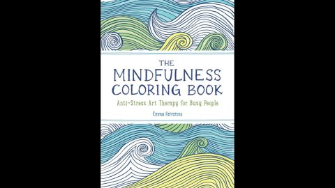 """""""<a href=""""http://www.amazon.com/Mindfulness-Coloring-Book-Anti-Stress-Therapy/dp/1615192824/ref=sr_1_1?s=books&ie=UTF8&qid=1429564017&sr=1-1&keywords=mindfulness+coloring+book+emma"""" target=""""_blank"""" target=""""_blank"""">The Mindfulness Colouring Book</a>: Anti-stress art therapy for busy people"""" by Emma Farrarons is high on the Amazon UK bestselling books list."""