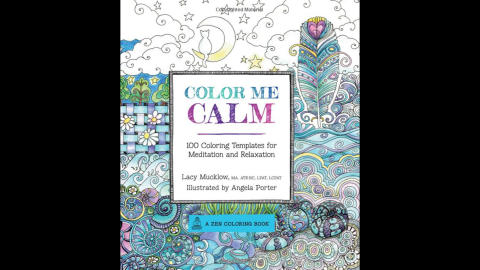 """Art therapist Lacy Mucklow and illustrator Angela Porter's """"<a href=""""http://www.amazon.com/Color-Calm-Templates-Meditation-Relaxation/dp/1937994775/ref=pd_sim_b_5?ie=UTF8&refRID=19QC6G0F0HP6PKPHNWFB"""" target=""""_blank"""" target=""""_blank"""">Color Me Calm</a>"""" and """"<a href=""""http://www.amazon.com/Color-Me-Happy-Coloring-Templates/dp/1937994767/ref=pd_sim_b_6?ie=UTF8&refRID=1VZQK337H0GCD3DP05HX"""" target=""""_blank"""" target=""""_blank"""">Color Me Happy</a>"""" are popular titles. They're working on  """"Color Me Stress-Free,"""" to be released in September."""