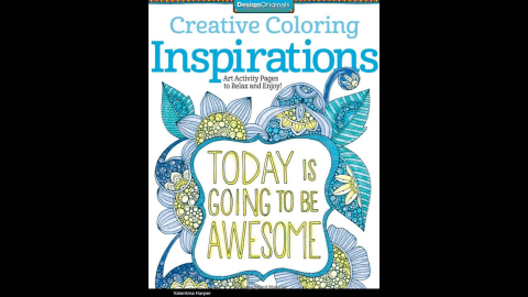 """""""<a href=""""http://www.amazon.com/Creative-Coloring-Inspirations-Activity-Pages/dp/1574219723/ref=sr_1_1?s=books&ie=UTF8&qid=1429573000&sr=1-1&keywords=Creative+Coloring+Inspirations%3A+Art+Activity+Pages+to+Relax+and+Enjoy%21"""" target=""""_blank"""" target=""""_blank"""">Creative Coloring Inspirations</a>: Art Activity Pages to Relax and Enjoy!"""" by Valentina Harper gives doodlers of all ages a chance to make the page sing with color.<br />"""
