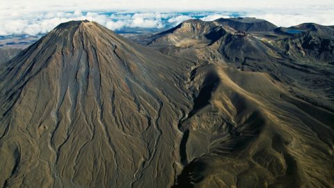 """<strong>New Zealand</strong>, where the famous """"Lord of the Rings"""" movie trilogy was fillmed, is the ninth happiest country in the world.<strong> </strong>Hardy hiking hobbit fans head to the 2,291-meter (7,516-foot)-high Mount Ngauruhoe, which doubled as Mount Doom in the movies."""