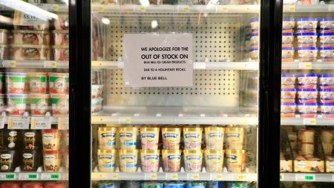 Blue Bell Creameries was forced to pull every single one of its products off store shelves in April because of potential listeria contamination.