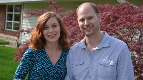 Justine Brooks Froelker and her husband Chad Froelker could not have a child and decided adoption wasn't right for their family.